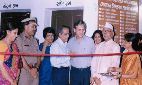 inauguration of library...
